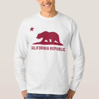 California Republic - Basic - Red T-Shirt