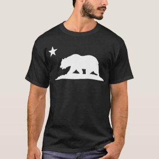 California Republic Bear - Black T-Shirt