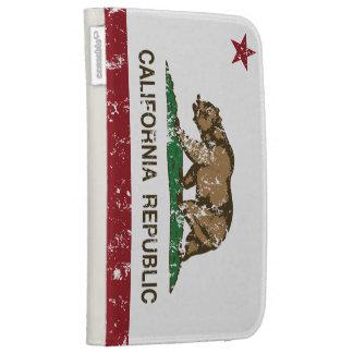 California Republic Bear Flag Kindle 3 Covers