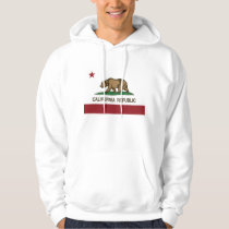 California Republic Bear Flag Hoodie