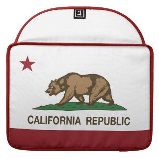 California Republic Bear Flag Sleeve For MacBooks