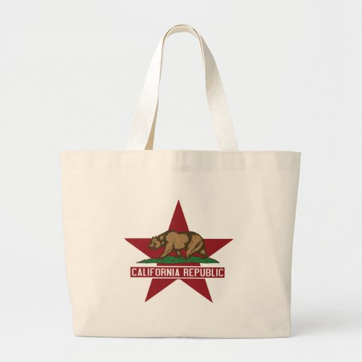 California Republic Bear Flag Star Bag