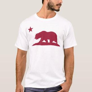California Republic Bear - Red T-Shirt