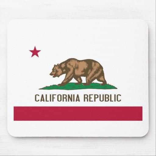 California Republic Bear State Flag Mousepad