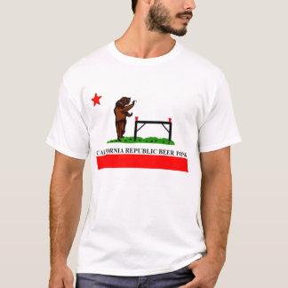 California Republic Beer Pong Flag T-Shirt