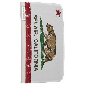 California Republic Bel Air Flag Cases For Kindle