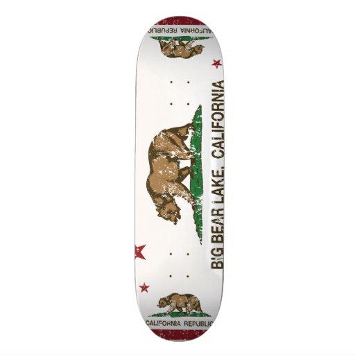 California Republic Big Bear Lake Custom Skateboard