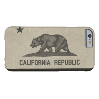 California Republic (Black) Barely There iPhone 6 Case