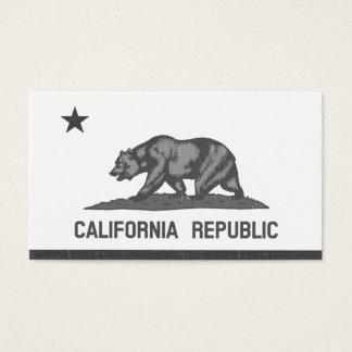 California Republic (Black) Business Card