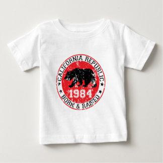 California republic born raised 1980 baby T-Shirt