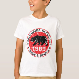 California republic born raised 1980 T-Shirt