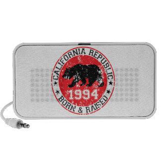 california republic born raised 1994 mini speaker