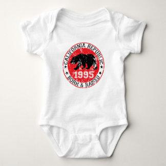 california republic born raised 1995 baby bodysuit