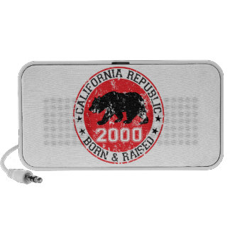 california republic born raised 2000 mini speaker