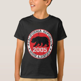 California republic born raised 2005 T-Shirt