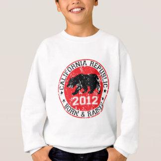California republic born raised 2012 sweatshirt