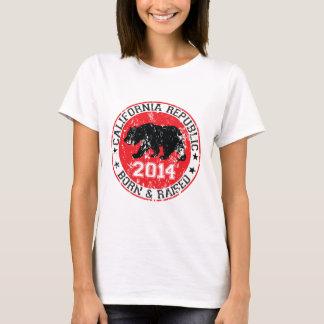 california republic born raised 2014 T-Shirt