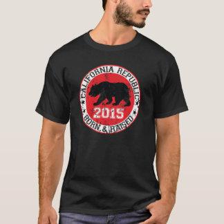 california republic born raised 2015 T-Shirt
