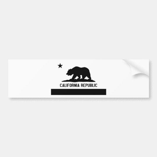 California Republic Bumper Sticker