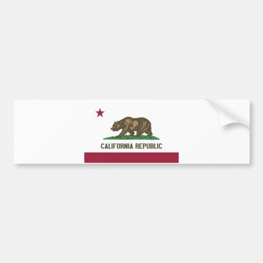California Republic Bumper Stickers
