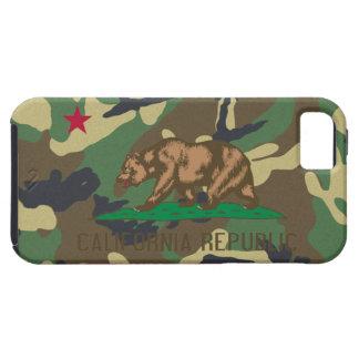 California Republic Camouflage Flag iPhone SE/5/5s Case
