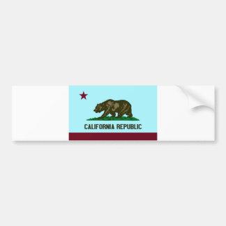 California Republic Car Bumper Sticker