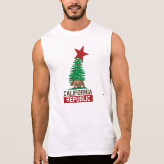 California Republic Celebration for the Holidays Sleeveless Shirt