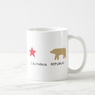 california republic coffee mug