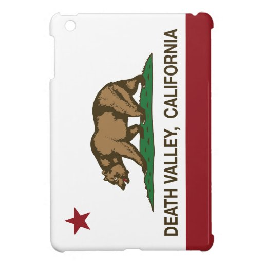 California Republic Death Valley iPad Mini Cases