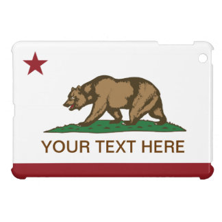 California Republic Flag Blank Case For The iPad Mini