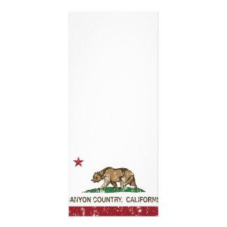 California Republic Flag Canyon Country Custom Announcements