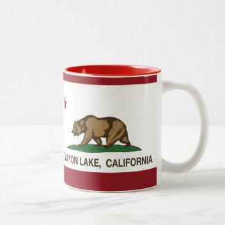 California Republic Flag Canyon Lake Mug