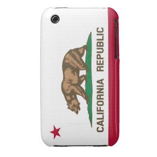 California republic flag Case-Mate iPhone 3 cases