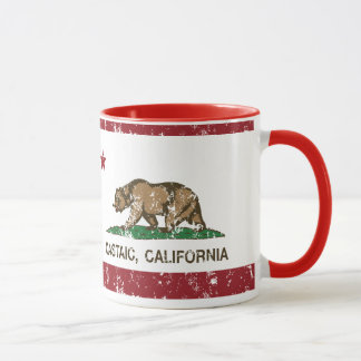 California Republic Flag Castaic Mug