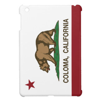 California Republic Flag Coloma Case For The iPad Mini