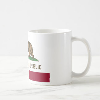 California Republic Flag - Color Classic White Coffee Mug