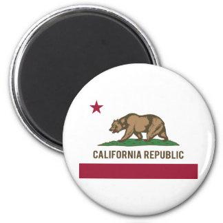 California Republic Flag - Color Magnet