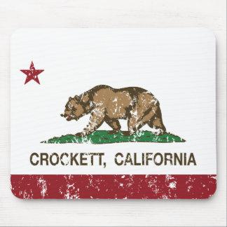 California Republic Flag Crockett Mouse Pad