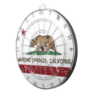 California Republic Flag Diamond Springs Dartboards