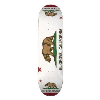California Republic Flag El Grove Skate Board