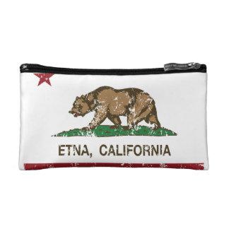 California Republic Flag Etna Makeup Bag