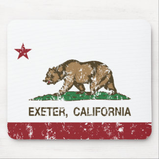 California Republic Flag Exeter Mouse Pad
