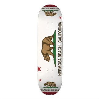 California Republic Flag Hermosa Beach Skate Decks