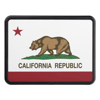California Republic Flag Hitch Cover