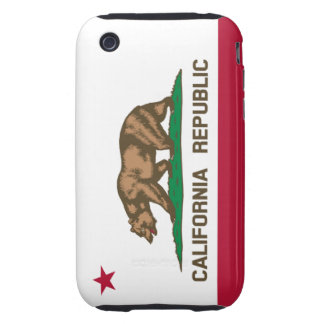 California republic flag iPhone 3 tough covers