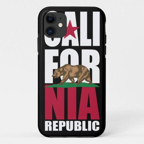 California Republic Flag iPhone 5 Case Phone Case