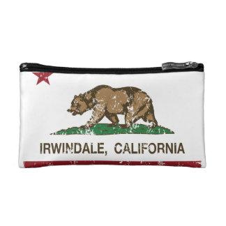 California Republic Flag Irwindale Cosmetic Bag