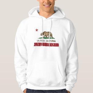 California Republic Flag La Jolla Hoodie