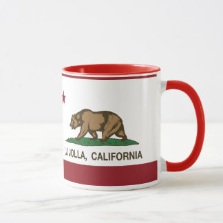 California Republic Flag La Jolla Mug