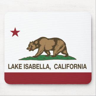 California Republic Flag Lake Isabella Mouse Pad